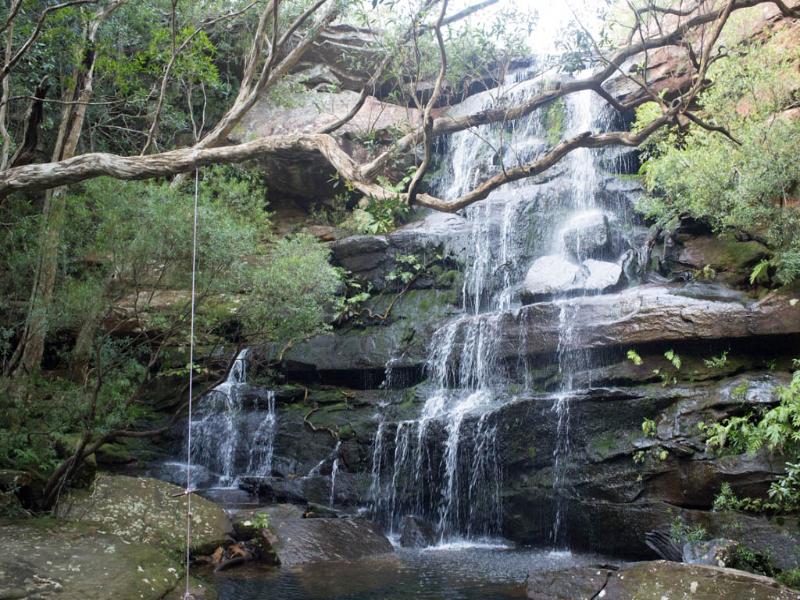 Brisbane Waters National Park waterfall